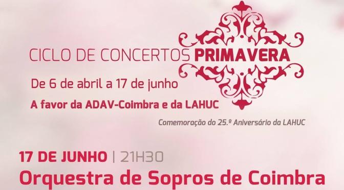 Ciclo de Concertos Primavera pela Orquestra De Sopros Coimbra