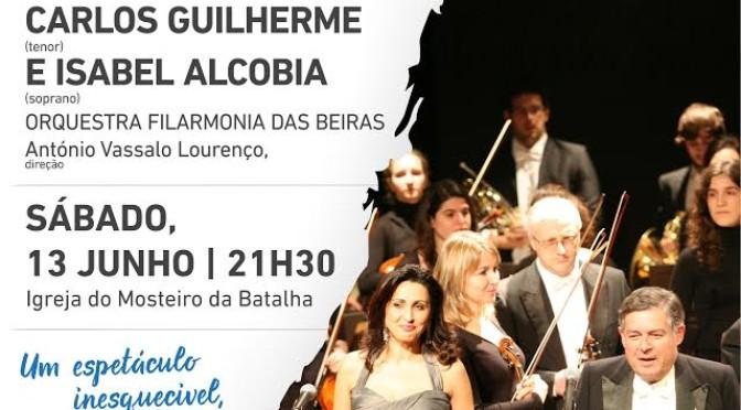 Gala Lírica com Carlos Guilherme e Isabel Alcobia