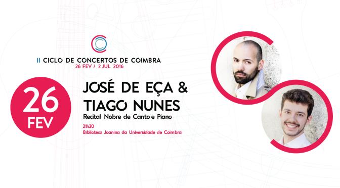 II CICLO DE CONCERTOS DE COIMBRA – 26/2