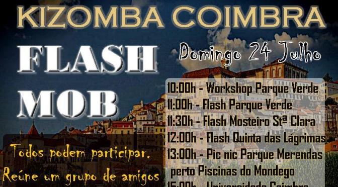 FlashMob KiZoMbA Coimbra