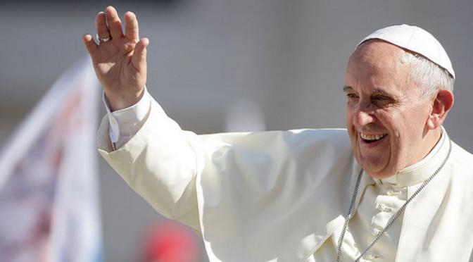 Transmissão em direto da visita do Papa Francisco