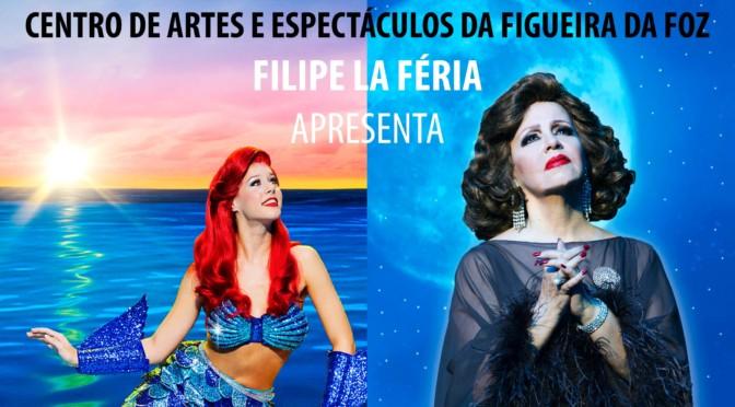 MUSICAL AMÁLIA e A Pequena Sereia de Filipe La Féria no CAE da Figueira da Foz