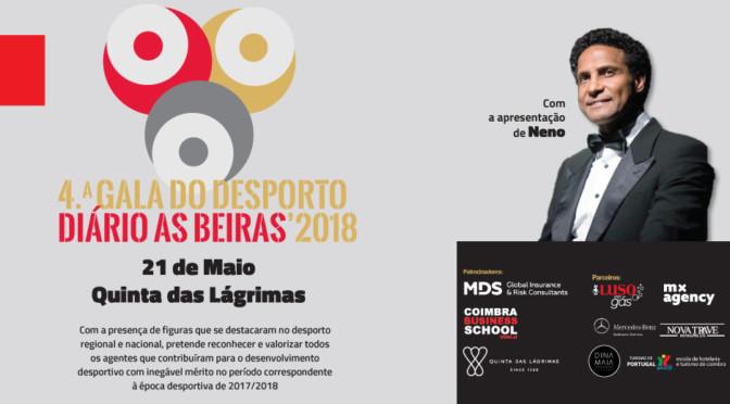 Melhores do desporto premiados pelo Diário As Beiras