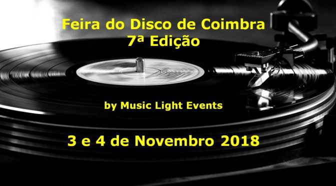 Feira do Disco de Coimbra – 7ª Edição